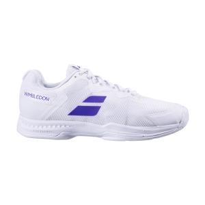 Calzado Tenis Hombre Babolat SFX3 All Court Wimbledon  White/Purple 30S205501046