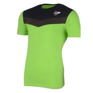 Polo e Maglie Tennis Dunlop Crew Essentials Maglietta Bambino  Green/Anthra 72254