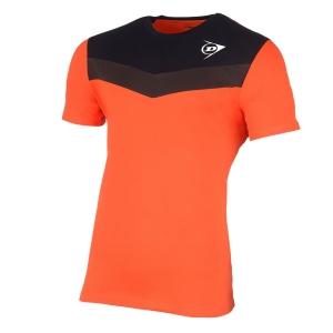Polo e Maglie Tennis Dunlop Crew Essentials Maglietta Bambino  Orange/Anthra 72255