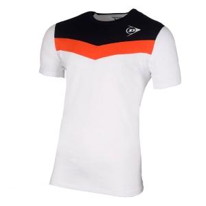 Polo e Maglie Tennis Dunlop Crew Essentials Maglietta Bambino  White/Anthra 72259