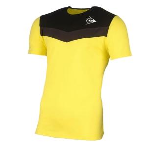 Polo e Maglie Tennis Dunlop Crew Essentials Maglietta Bambino  Yellow/Anthra 72258