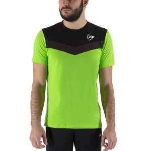 Camisetas de Tenis Hombre Dunlop Crew Essentials Camiseta  Green/Anthra 72244