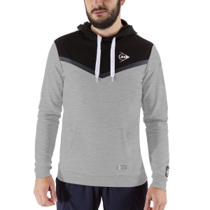 Men's Tennis Shirts and Hoodies Dunlop Essentials Hoodie  Grey/Anthracite 72236
