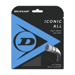 Multifilament String Dunlop Iconic All 1.30 Set 12 m  Natural 10303351