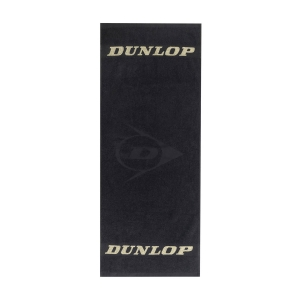 Asciugamani da Tennis Dunlop Logo Asciugamano  Black/Yellow 307387