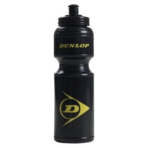 Various Accessories Dunlop Logo Drink Bottle  Black/Yelow 307388