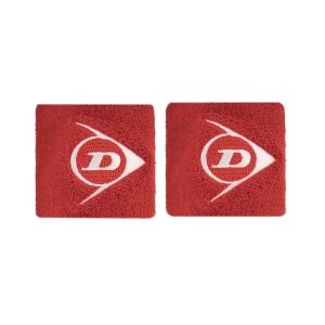 Tennis Wristbands Dunlop Logo Small Wristbands  Red 307384