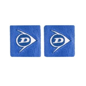 Tennis Wristbands Dunlop Logo Small Wristbands  Royal 307383