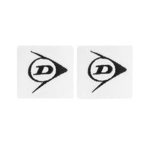 Tennis Wristbands Dunlop Logo Small Wristbands  White 307381