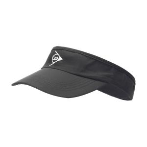 Cappelli e Visiere Tennis Dunlop Logo Visiera  Black/White 307378