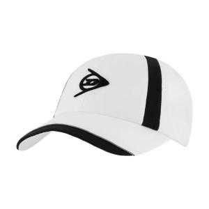 Tennis Hats and Visors Dunlop Performance Cap  White/Black 307376