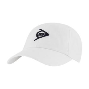 Tennis Hats and Visors Dunlop Promo Cap  White 307328