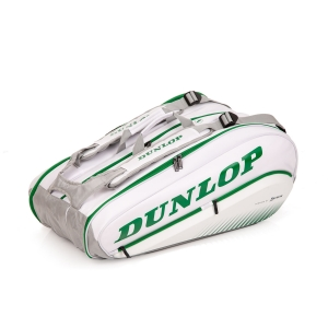 Tennis Bag Dunlop Wimbledon SX Performance x 12 Thermo Bag  White/Green 10295156