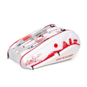 Tennis Bag Dunlop Tokyo SX Performance x 12 Thermo Bag  White/Red 10305793