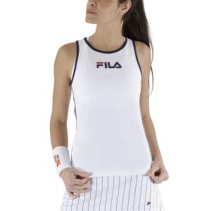 Women`s Tennis Tanks Fila Amber Tank  White FBL211129E001