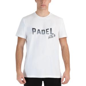 Men's Tennis Shirts Fila Arno TShirt  White FLU212014001