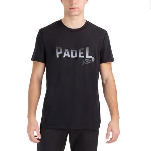 Men's Tennis Shirts Fila Arno TShirt  Black FLU212014900