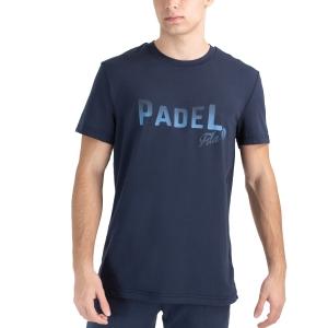 Men's Tennis Shirts Fila Arno TShirt  Peacoat Blue FLU212014100