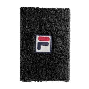 Tennis Wristbands Fila Arnst Big Wristband  Black XS11TEU050900