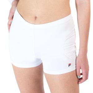 Gonne e Pantaloncini Tennis Fila Bella 4in Pantaloncini  White FBL172003001