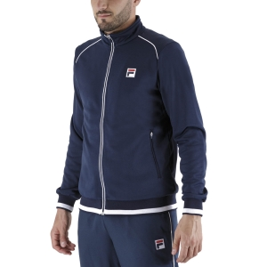 Men's Tennis Jackets Fila Ben Jacket  Peacoat Blue FBM211003100