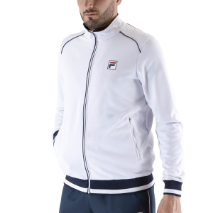 Men's Tennis Jackets Fila Ben Jacket  White FBM211003001