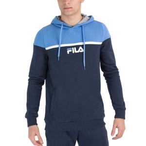 Men's Tennis Shirts and Hoodies Fila David Hoodie  Marina XFM211046108