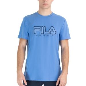 Men's Tennis Shirts Fila Felix TShirt  Marina FLU2120101800