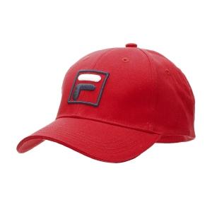 Tennis Hats and Visors Fila Forze Baseball Hat  Red XS12FBU016500
