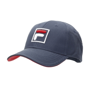 Tennis Hats and Visors Fila Forze Baseball Hat  Peacoat Blue/Red XS12FBU016105