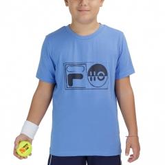 Fila Jacob T-Shirt Boys - Marina