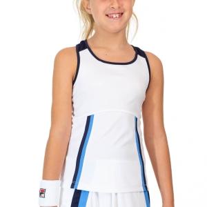 Top and Shirts Girl Fila Jasmine Tank Girls  White UOL219333K001