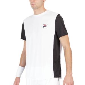 Men's Tennis Shirts Fila Jerome TShirt  White FOM219302001