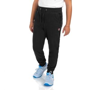 Pantalones Cortos  y Pantalones Boy Fila Larry Pantalones Nino  Black FJX211025C900