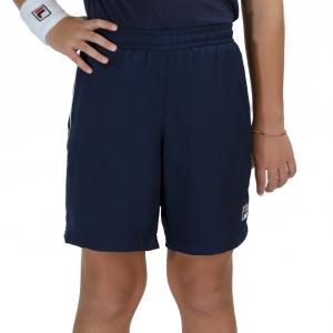 Pantalones Cortos  y Pantalones Boy Fila Leon 7in Shorts Nino  Peacoat Blue FJL211005100