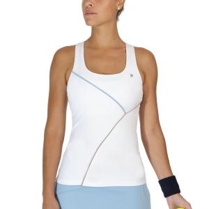 Top de Tenis Mujer Fila Leonie Top  White UOL219327001