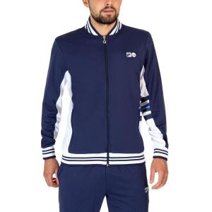 Men's Tennis Jackets Fila Liam Jacket  Peacoat/White Alyssum UOM2193051505