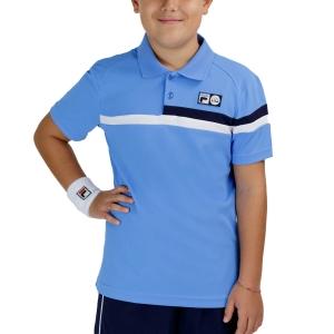 Tennis Polo and Shirts Fila Louie Polo Boys  Marina UOM219311K1800