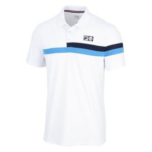 Polo e Maglie Tennis Fila Louie Polo Bambino  White UOM219311K001
