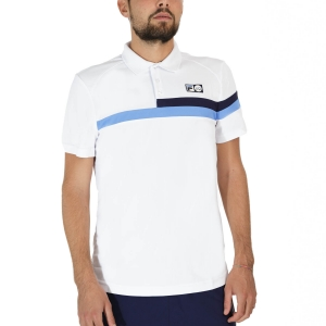 Polo Tennis Uomo Fila Louie Polo  White UOM219311001