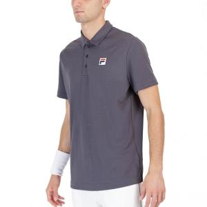 Polo Tenis Hombre Fila Maurice Polo  Black/Melange FOM219303994