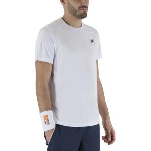 Maglietta Tennis Uomo Fila Nick Maglietta  White XFM211016001