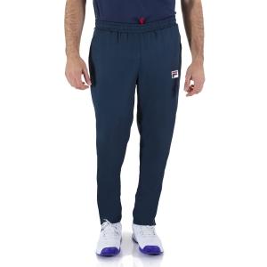 Men's Tennis Pants and Tights Fila Peter Pants  Peacoat Blue FBM211006100