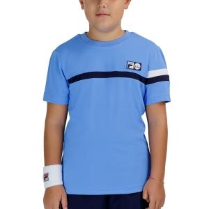 Tennis Polo and Shirts Fila Roman TShirt Boys  Marina UOM219312K1800