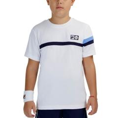 Fila Roman T-Shirt Boys - White