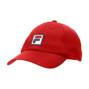 Tennis Hats and Visors Fila Sampau Hat  Red XS12TEU002500