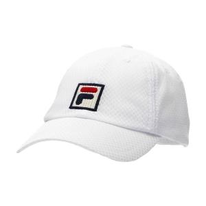 Tennis Hats and Visors Fila Sampau Hat  White XS12TEU002001