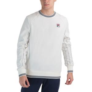 Men's Tennis Shirts and Hoodies Fila Samu Shirt  White Alyssum XFM2120312002