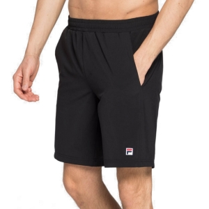 Pantalones Cortos Tenis Hombre Fila Santana Performance 9in Shorts  Black FBM142005F900