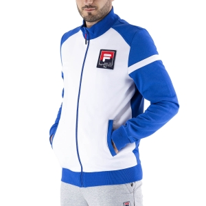 Men's Tennis Jackets Fila Smudo Jacket  Blue Iolite XFM2110381400